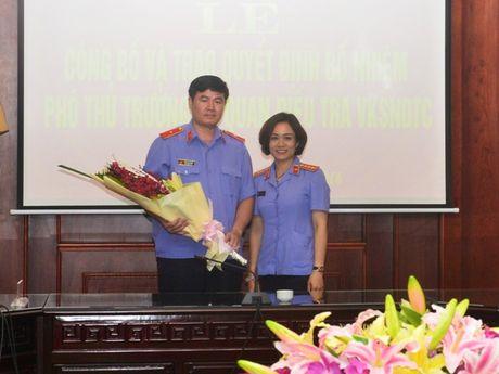 Bo nhiem Pho Thu truong Co quan dieu tra VKSNDTC - Anh 5