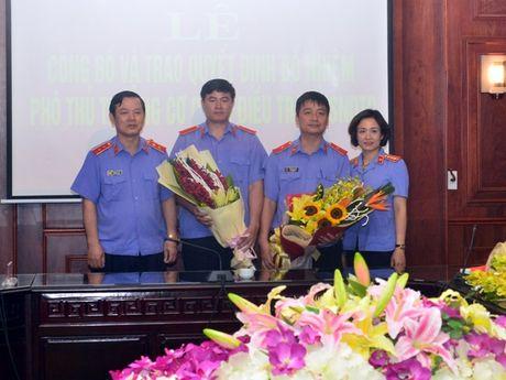 Bo nhiem Pho Thu truong Co quan dieu tra VKSNDTC - Anh 6