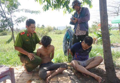 Cuop tui xach, phong bat mang vao cao toc van khong thoat - Anh 1