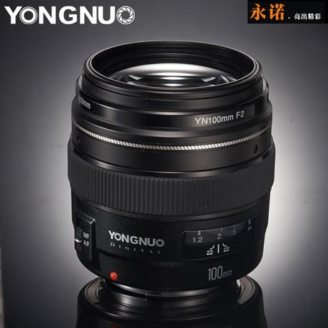 Yongnuo ra mat ong kinh 100mm f/2 cho Canon, gia chi 170 USD - Anh 1