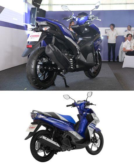 So sanh Yamaha NVX 155cc moi va Yamaha Nouvo 2016 - Anh 3