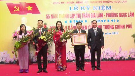 Phuong Ngoc Lam ky niem 55 nam thanh lap va don nhan bang khen cua Thu tuong Chinh phu - Anh 1