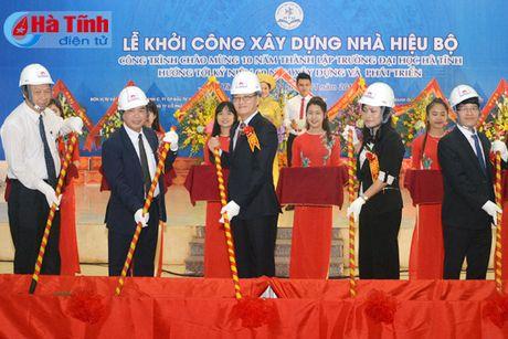 Hon 100 ty dong xay dung Nha hieu bo Truong Dai hoc Ha Tinh - Anh 1