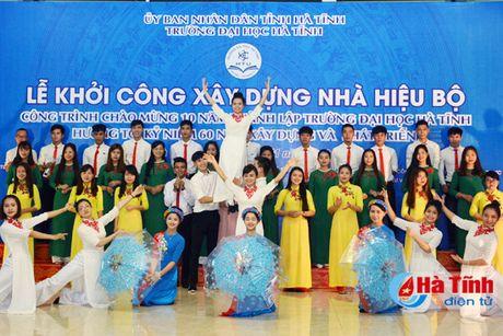 Hon 100 ty dong xay dung Nha hieu bo Truong Dai hoc Ha Tinh - Anh 2