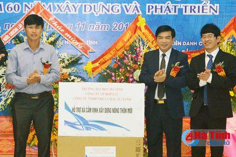 Hon 100 ty dong xay dung Nha hieu bo Truong Dai hoc Ha Tinh - Anh 5