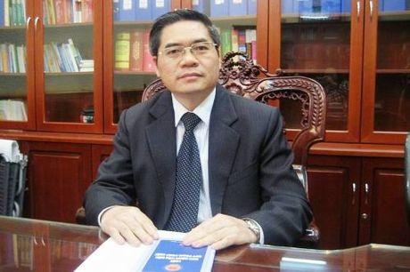 Thu truong Bo Tu phap Dinh Trung Tung thoi chuc - Anh 1