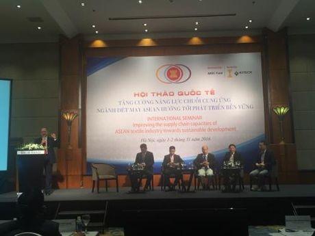 Tang nang luc cho det may Viet Nam trong chuoi cung ung khoi ASEAN - Anh 1