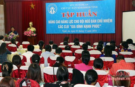 Xay dung cac CLB 'Gia dinh hanh phuc' - Anh 1