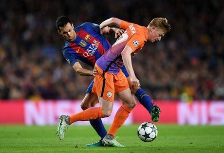 Man City vs Barca: Su 'tra thu' ngot ngao? - Anh 1