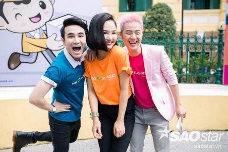 'Bo ba sieu quay' Thanh Duy - Miu Le - Huynh Lap ru nhau dai nao su kien - Anh 6