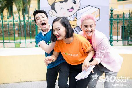'Bo ba sieu quay' Thanh Duy - Miu Le - Huynh Lap ru nhau dai nao su kien - Anh 7