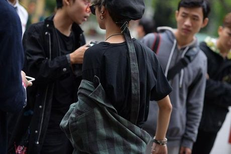 Ha Kino, Thythu Nguyen cung 500 anh em da co mat tai Ha Noi cho 'ngay hoi street style' - Anh 4