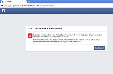Quet ma doc cho tai khoan Facebook - Anh 2