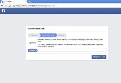 Quet ma doc cho tai khoan Facebook - Anh 3