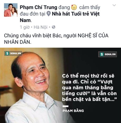 Nghe si Viet dau xot truoc su ra di dot ngot cua NSUT Pham Bang - Anh 3