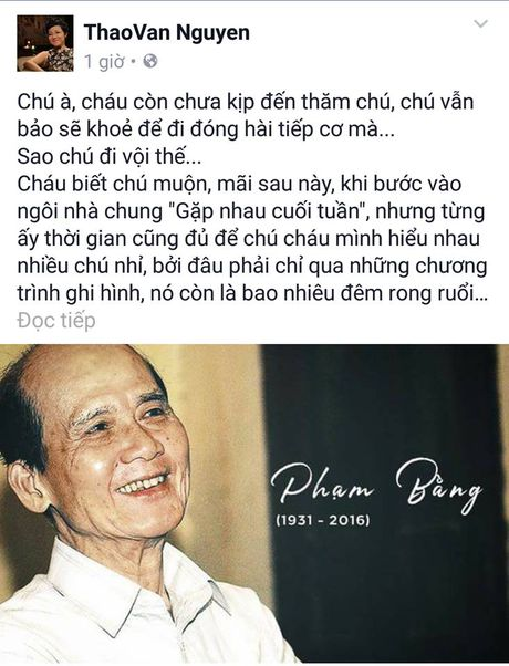Nghe si Viet dau xot truoc su ra di dot ngot cua NSUT Pham Bang - Anh 5