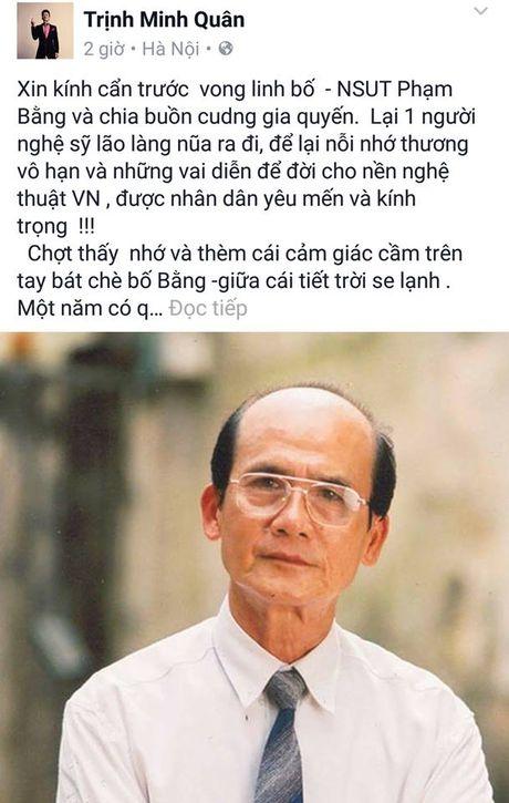 Nghe si Viet dau xot truoc su ra di dot ngot cua NSUT Pham Bang - Anh 6