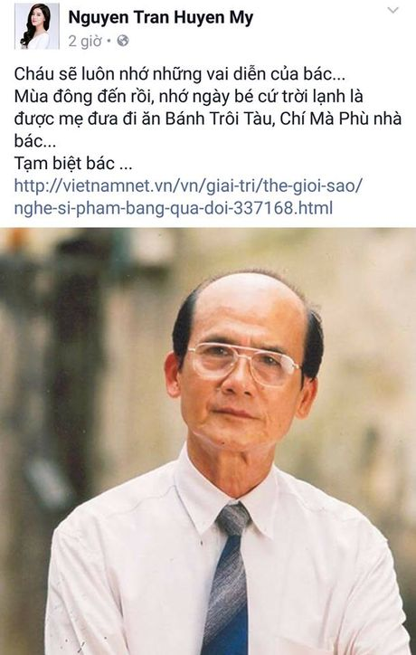 Nghe si Viet dau xot truoc su ra di dot ngot cua NSUT Pham Bang - Anh 8