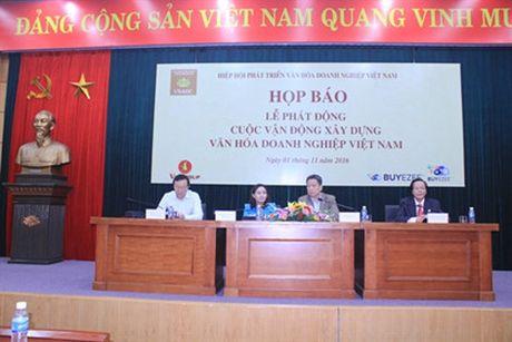 Le phat dong ngay van hoa doanh nghiep se dien ra vao 7/11 - Anh 2