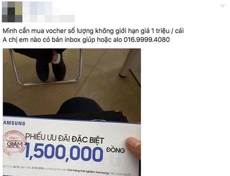 Thu gom voucher 1,5 trieu dong vu Note 7, can than keo bi lua! - Anh 1