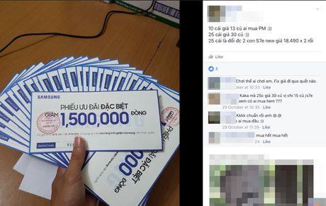 Thu gom voucher 1,5 trieu dong vu Note 7, can than keo bi lua! - Anh 2