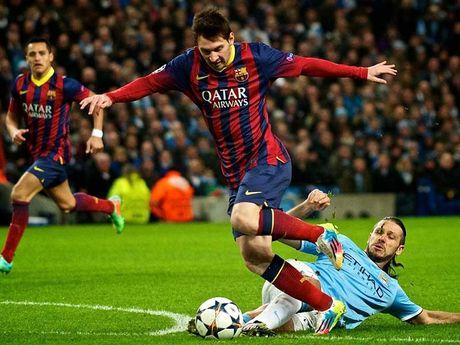 Man. City - Barcelona: Guardiola bat dau run - Anh 1