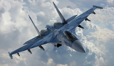 My xin loi vi ap sat may bay Nga o Syria - Anh 1