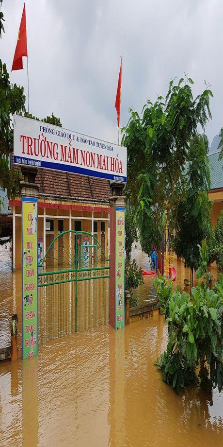 Quang Binh: Lu lon hang ngan ho dan ngap nang - Anh 6
