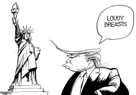 Trump dai phau de 'ra dang tong thong' trong tranh biem hoa - Anh 7
