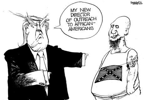 Trump dai phau de 'ra dang tong thong' trong tranh biem hoa - Anh 8