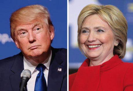 Clinton van dan truoc 5 diem sau 'bat ngo thang 10' tu FBI - Anh 1