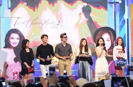 Kang Tae Oh tiet lo so lan hon Nha Phuong tren truyen hinh - Anh 2