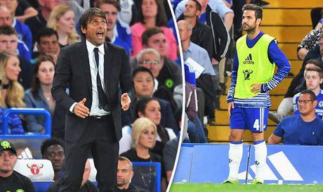 Bi Conte tru dap, Fabregas tron chay khoi Chelsea - Anh 1