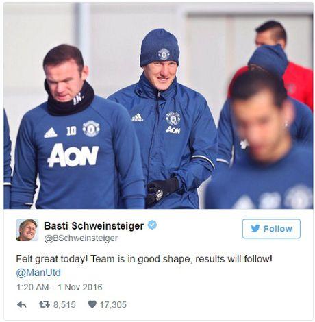 Schweinsteiger noi gi khi duoc tro lai doi mot Man United? - Anh 1