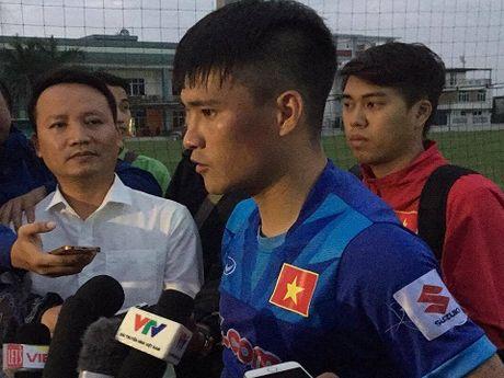 Cong Vinh: 'Doi tuyen se ket thuc mot nam hoan hao cua the thao Viet Nam' - Anh 1