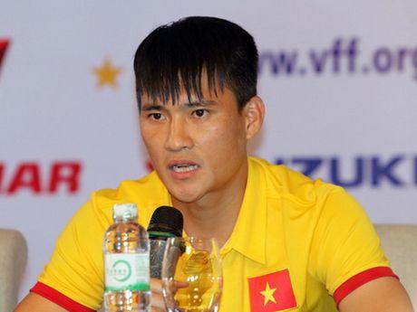 Cong Vinh: 'Doi tuyen se ket thuc mot nam hoan hao cua the thao Viet Nam' - Anh 2