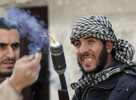 Chum anh: Nhung loai vu khi chi co trong cuoc chien o Syria - Anh 14