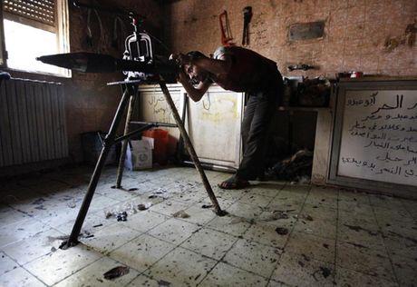 Chum anh: Nhung loai vu khi chi co trong cuoc chien o Syria - Anh 15
