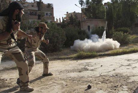 Chum anh: Nhung loai vu khi chi co trong cuoc chien o Syria - Anh 18