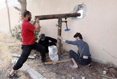 Chum anh: Nhung loai vu khi chi co trong cuoc chien o Syria - Anh 2