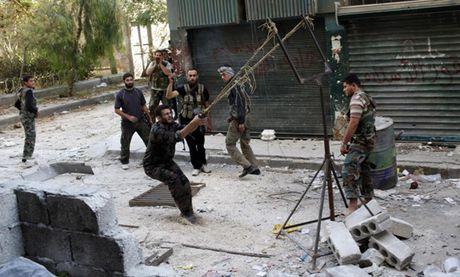 Chum anh: Nhung loai vu khi chi co trong cuoc chien o Syria - Anh 3
