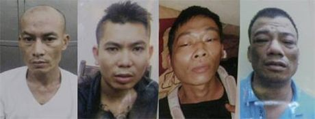 Bat 4 doi tuong xa sung ban chet nguoi tai nha nghi o Ha Noi - Anh 1