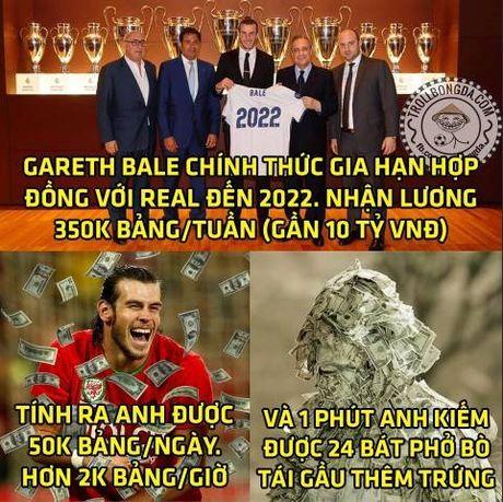 Biem hoa 24h: Gareth Bale toc cang dai cang 'phat tai' - Anh 2