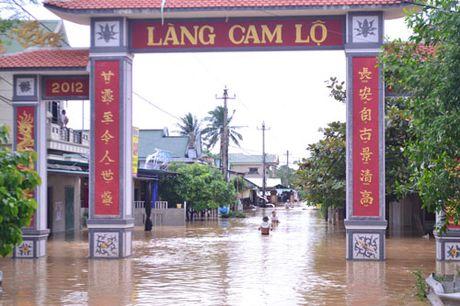 Quang Tri: Mua lu lam 1 nguoi mat tich - Anh 2