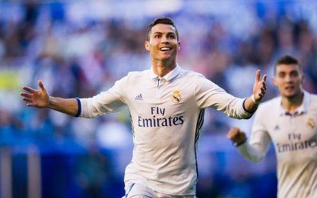 Top 10 cau thu huong luong cao nhat the gioi: Ronaldo va Messi dan dau - Anh 12