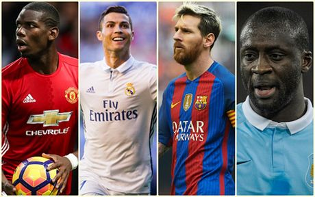 Top 10 cau thu huong luong cao nhat the gioi: Ronaldo va Messi dan dau - Anh 1