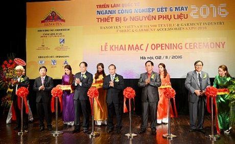 Khai mac Trien lam quoc te nganh cong nghiep det may 2016 - Anh 1