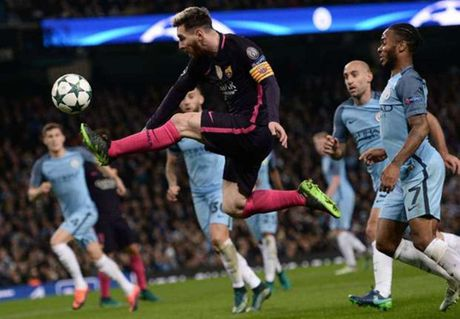 Barca thua Man City, Messi van lap ki luc o Champions League - Anh 1