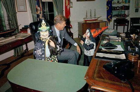 Chum anh le Halloween cuoi cung cua Tong thong Kennedy - Anh 5