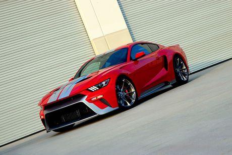 Ford Mustang GT 'lot xac' sieu xe Ford GT hang khung - Anh 1